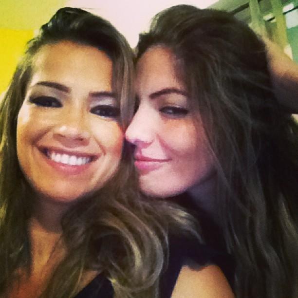 Ex-BBBs Fani e Amanara (Foto: Instagram/ Reprodução)