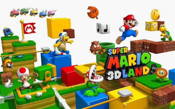 Super Mario 3D Land misturou o velho e o novo estilo nos portáteis (Divulgação/Nintendo)