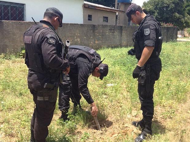 Bope foi chamado para desativar bombas na casa de ex-combatente da 2º Guerra Mundial em Mato Grosso (Foto: Polícia Civil de MT)