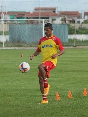 Adriano Pardal, atacante do América-RN (Foto: Canindé Pereira/Divulgação)