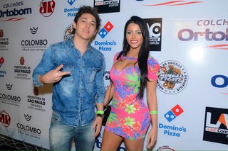 Michel Grasiani e Claudia Alende (Foto: Caio Duran/AGNews)