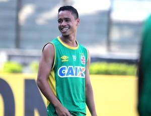 Pikachu treino São Januário (Foto: Paulo Fernandes / Vasco.com.br)