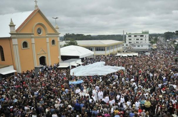Romaria de Nossa Senhora do Caravaggio (Foto: Porthus Junior/Agência RBS)