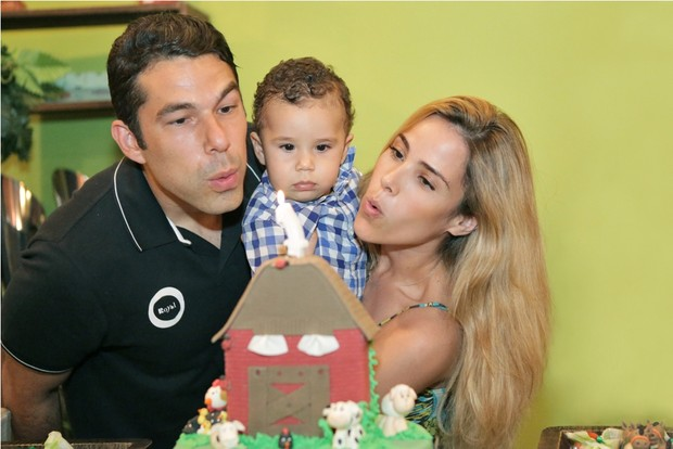 Aniversario de Jose Marcus, filho de Wanessa e Marcus Buaiz (Foto: Edgar Oliveira/Prime Foto)