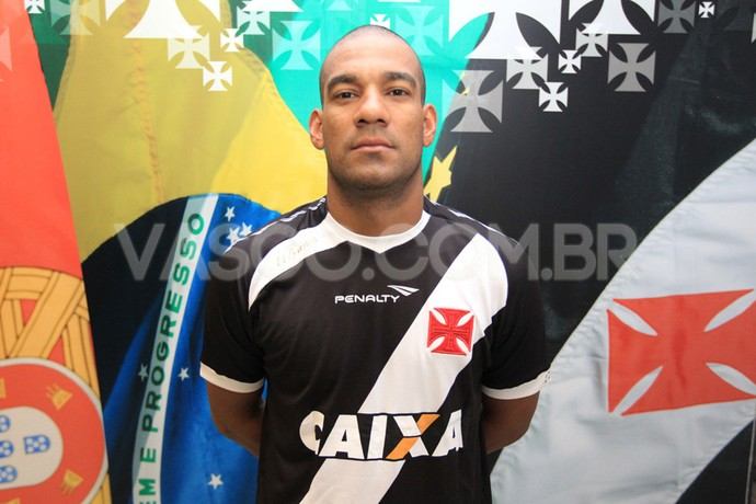Rodrigo apresentação Vasco (Foto: Marcelo Sadio / Flickr do Vasco)
