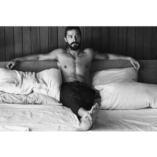 Shia LaBeouf (Foto: Reprodução/Instagram)