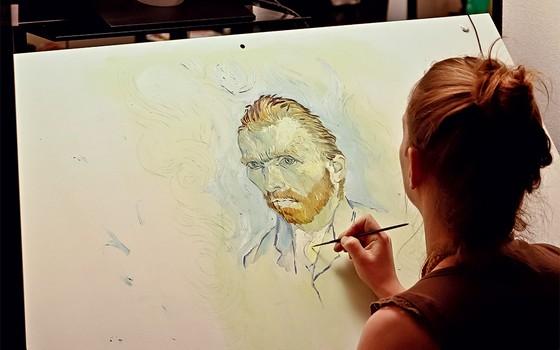 Resultado de imagem para com amor van gogh pintores produção