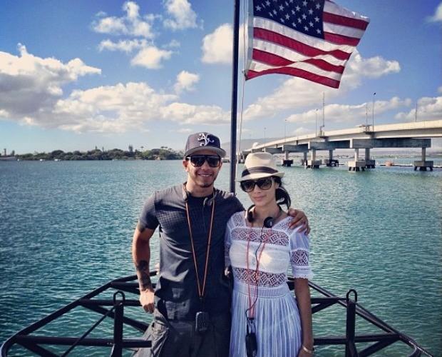 Férias de Lewis Hamilton e Nicole Scherzinger (Foto: Reprodução)