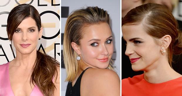 Sandra Bullock, Hayden Panettiere  e Emma Watson (Foto: Getty Images)