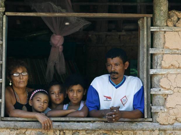 Comunidade de quilombola do Espírito Santo no Acará, no Pará. Na vila moram 17 famílias de descendentes de escravos.  (Foto:  Fernando Araujo/ O liberal)