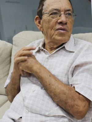 Jornalista Deusdeth Nunes - Garrincha - Especial Albertão 40 anos (Foto: Náyra Macêdo/GLOBOESPORTE.COM)