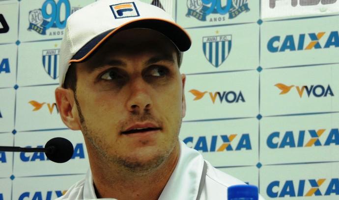 Paulo Turra Avaí (Foto: Marcelo Silva)