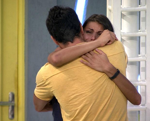 Eliminação Franciele (Foto: BBB/ TV Globo)