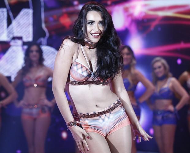 Beatriz Larrat arrasa com sensualidade e rebolado (Foto: Inácio Moraes / Gshow)