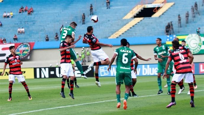 Atlético-GO x Goiás - Campeonato Goiano 2017 (Foto: Rosiron Rodrigues / Goiás E.C.)