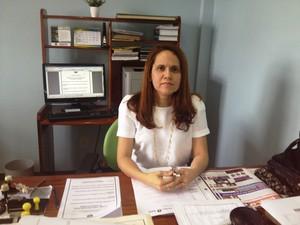Delegada de Meio Ambiente, Eliana Almeida (Foto: Cassio Albuquerque/G1)