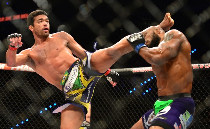 Lyoto Machida Yoel Romero UFC Hollywood MMA (Foto: Jason Silva)