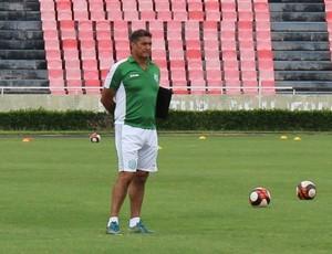 Paulo Cezar Catanoce, Uberlândia Esporte Clube, UEC, treinador (Foto: Lucas Papel)