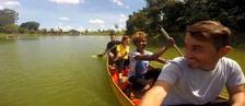 Muitas risadas na aventura do Zappeando (30) ( Rede Amazônica)