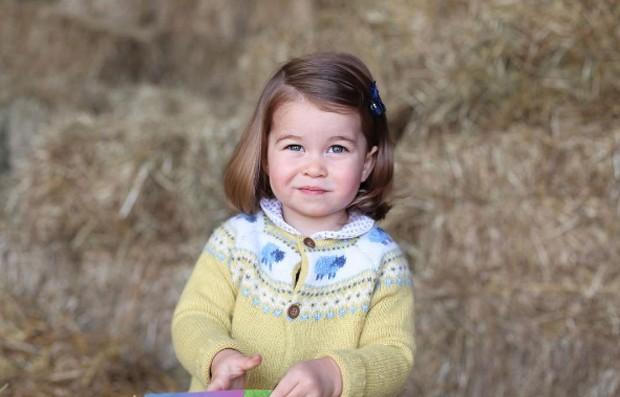 Princesa Charlotte (Foto: Reprodução/Instagram)