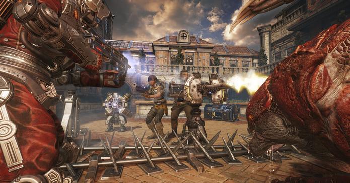 Modo Horda de Gears of War 4 (Foto: Divulgação)