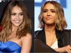 Mais uma! Jessica Alba aparece com cabelo mais curto; veja antes e depois