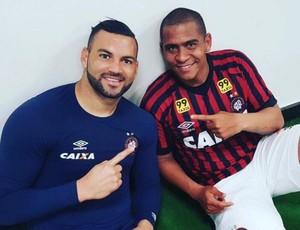 Weverton Walter Atlético-PR Instagram (Foto: Reprodução/ Instagram)