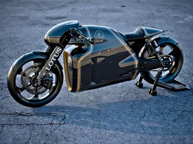 C-01, a primeira moto da Lotus (Foto: Divulgação)