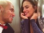 Bruna Marquezine homenageia Neymar em vídeo de aniversário