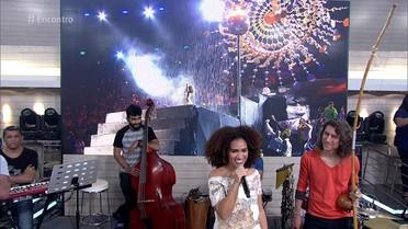 Mariene de Castro fala sobre a festa de encerramento da Olimpíada no Maracanã