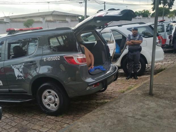 Polícia e MP cumpriram vários mandados de prisão (Foto: Mariane Silva/TV TEM)