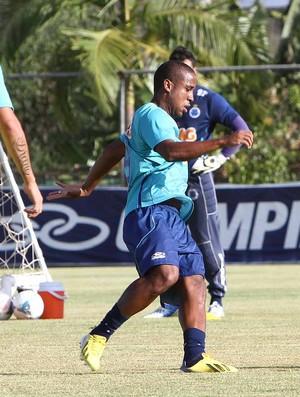 Atacante Borges, do Cruzeiro (Foto: Denilton Dias / Vipcomm)