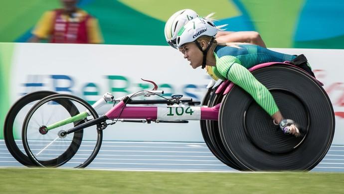 Maria de Fatima Fonseca; Fah Fonseca; 5000m; atletismo; Paralimpíada; Rio de Janeiro (Foto: Daniel Zappe/MPIX/CPB)
