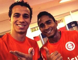Leandro Damião e Jorge Henrique no Parque Gigante (Foto: Reprodução/Twitter)
