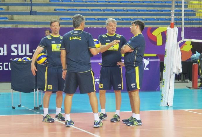 Brasil treino sul-americano vôlei maceió (Foto: Marcello Pires)