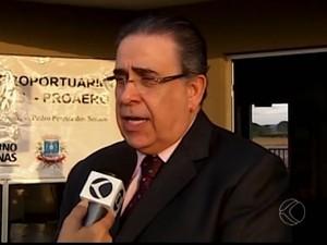 Governador esteve em Patos de Minas nesta terça-feira (21) (Foto: Reprodução / Divulgação)