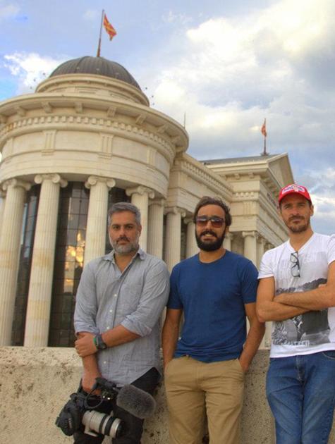 André Fran, Felipe Ufo e Rodrigo Cebrian  (Foto: Arquivo pessoal)