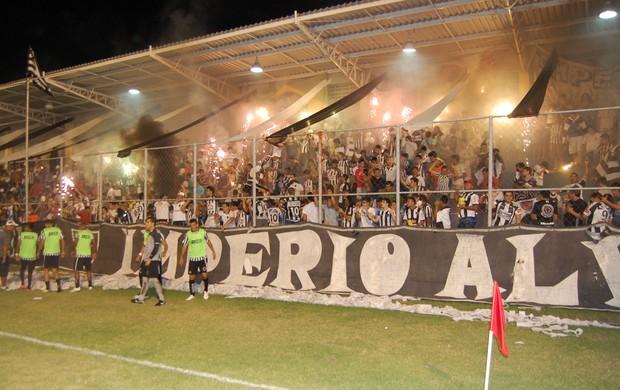 Torcida Botafogo-PB (Foto: Richardson Gray/Globoesporte.com/PB)
