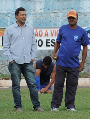 Fuza e Domingos, Osvaldo Cruz (Foto: Murilo Rincon / GloboEsporte.com)