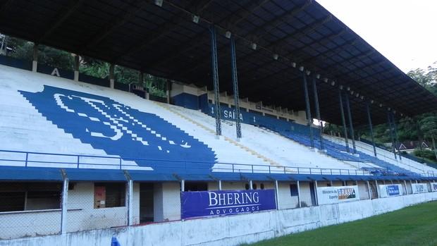 Atílio Marotti: estádio do clube com capacidade para até 7 mil pessoas (Foto: Chandy Teixeira)