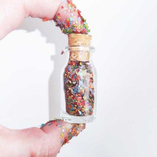 Pura glitter (Foto: Reprodução e Divulgação)