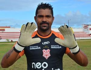 Samir será o titular no jogo desta quarta-feira contra o São Domingos (Foto: Felipe Martins/GLOBOESPORTE.COM)