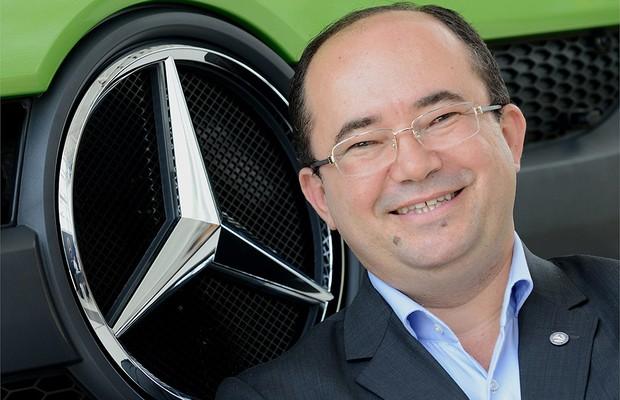 Silvio Renan da Silva Souza, diretor de Pós-Venda Brasil da Mercedes (Foto: Divulgação)