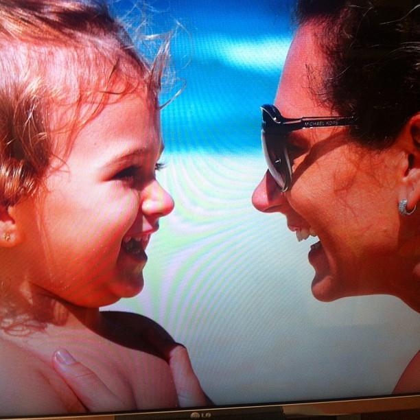 Laura e Juliana Camatt, filha e mulher de Mario Frias (Foto: Instagram/Reprodução)