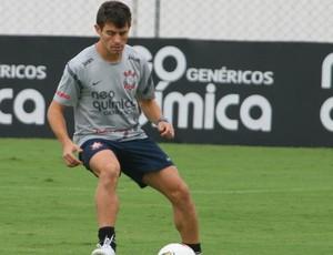 Alex, treino Corinthians (Foto: Anderson Rodrigues / Globoesporte.com)
