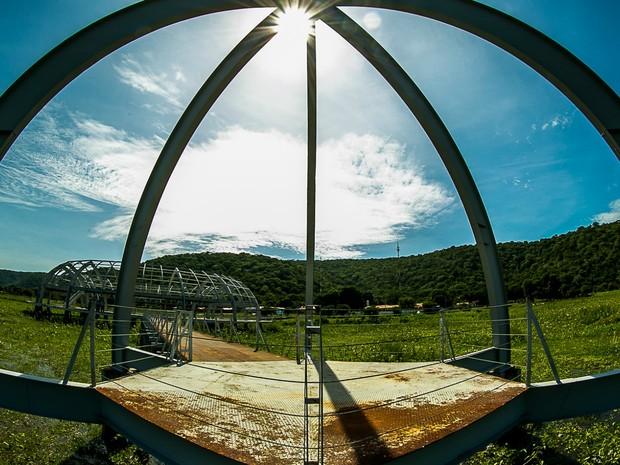 Memorial Rondon, em Mato Grosso (Foto: Chico Valdiner/Gcom-MT)