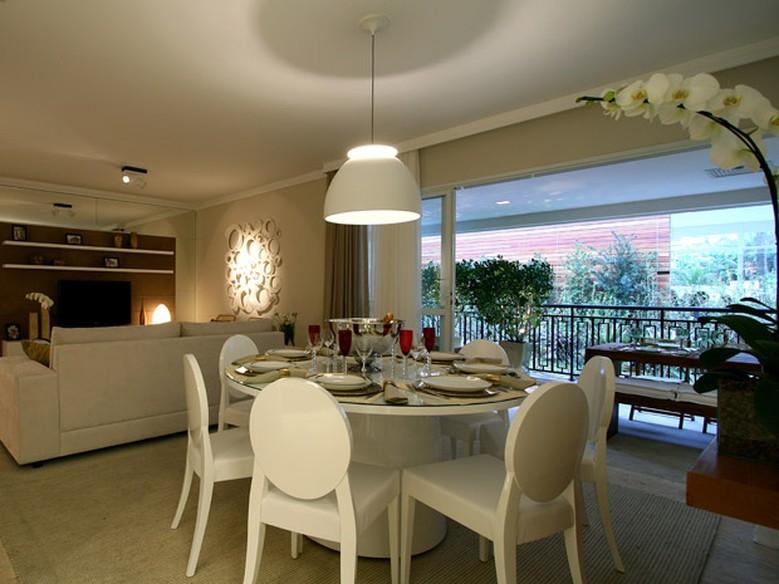 Sala De Jantar Redonda ~ Como escolher a mesa de jantar ideal para a sala  Casa  GNT