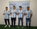 Londrina apresenta quatro reforços para sequência da Série B do Brasileiro