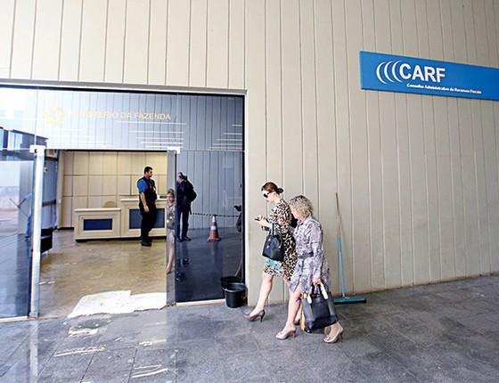 A sede do Carf, em Brasília.  (Foto: André Dusek/Estadão Conteúdo)
