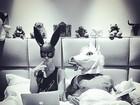 Giovanna Ewbank e Bruno Gagliasso mostram intimidade na cama